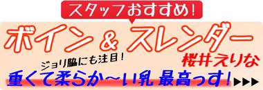 ショップイチオシ!『ミルキー・グラマー 桜井えりな』