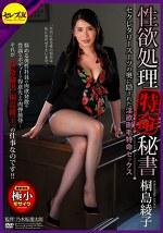 性欲処理特命秘書 セクレタリースーツの奥に隠された淫欲剛毛特命セックス 桐島綾子
