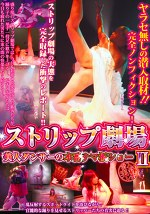 ストリップ劇場Ⅱ 美人ダンサーの本番ナマ板ショー