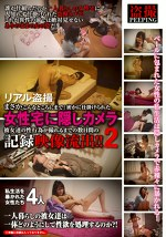 リアル盗撮 まさかこんなところにまで!密かに仕掛けられた女性宅に隠しカメラ 彼女達の性行為が撮れるまでの数日間の記録映像流出!! 2
