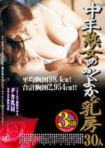中年熟女のふくよかな乳房 三十~五十路熟女30人デカ乳房ユサユサ濃厚交尾