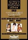 アリスJAPAN GOLD プロデューサーが選んだ人気女優ベスト20[2001年~2007年]