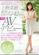 絶頂し過ぎるEカップ人妻 上野菜穂 42歳 AVデビュー