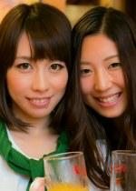 相席居酒屋で知り合ったマキちゃんとエミちゃんをたっぷりご賞味しちゃいました!