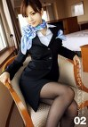 Working Woman's Legs 02 成田勤務キャビンアテンダント