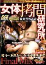 女体拷問研究所 vol.11 Final Mix 絶句・・・、涙滲、昇天!女体秘墺の最終砦