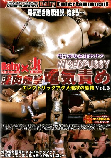 WIRED PUSSY 淫肉痙攣電気責め vol.3