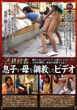近親相姦 息子が母を調教したビデオ 東条美菜 根元純