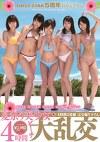FIRST STAR5周年特別記念作品 夏祭り美少女ビーチ大乱交 4時間 完全撮り下ろし