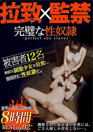 完璧な性奴隷 BEST vol.02 少女拉致、監禁、調教録。