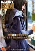 関東痴漢師協会監修 2013年上半期活動報告 被害者10名