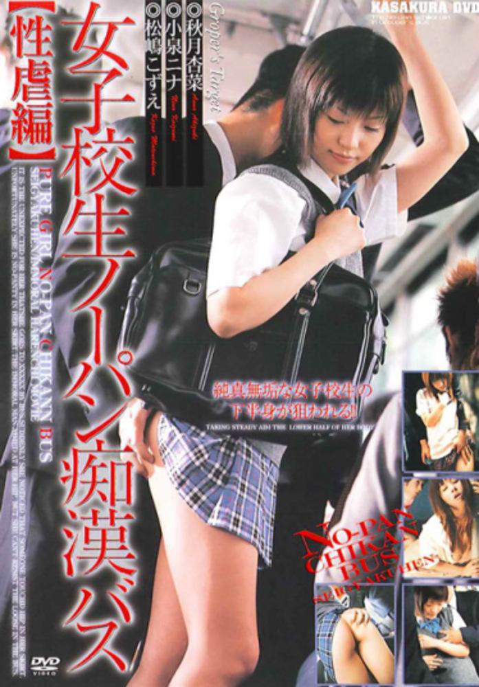 女子校生ノーパン痴漢バス【性虐編】