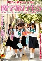 田舎から東京にやって来た修学旅行生5 未熟で初心な女の子の悩みを聞いたら汚れのない10代の女の子の初体験が撮れました